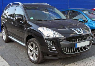 Autobaterie Peugeot 4007