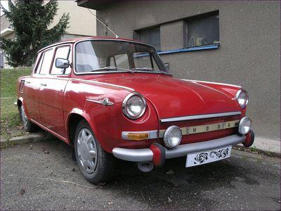 Autobaterie Škoda 1000 MB