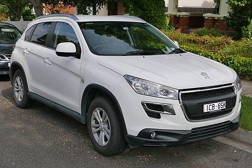 Autokoberce Peugeot 4008