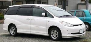 Autopotahy Toyota Previa