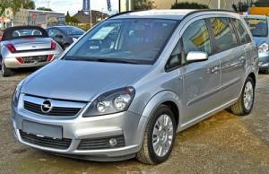 pneumatiky Opel Zafira