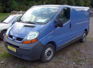 Autopotahy Renault Trafic
