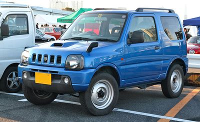 Autopotahy Suzuki Jimny