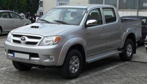 Autopotahy Toyota Hilux