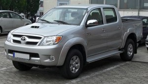 Pneumatiky Toyota Hilux