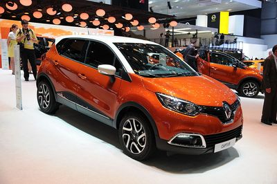 Autokoberce Renault Captur