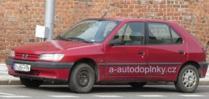 Autopotahy Peugeot 306