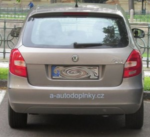 Zadní světlo Škoda Fabia 2. generace