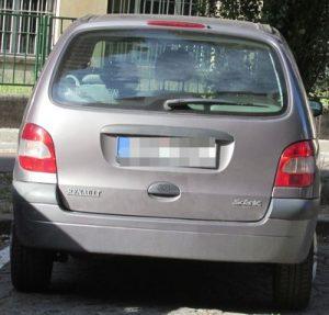 Zadní světlo Renault Scénic 1