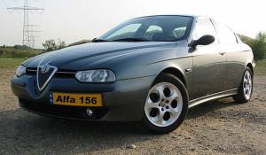 Pneumatiky Alfa Romeo 156