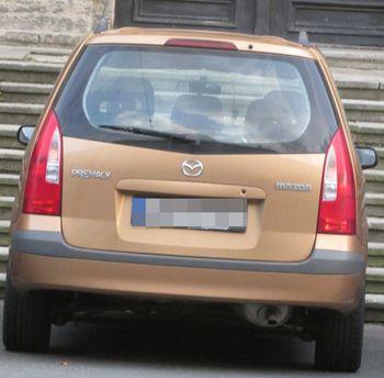 Zadní světlo Mazda Premacy