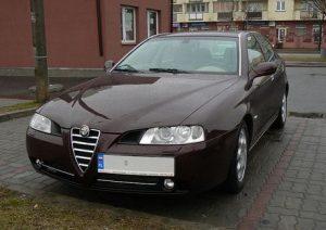 Stěrače Alfa Romeo 166