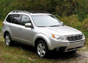 Střešní nosič Subaru Forester