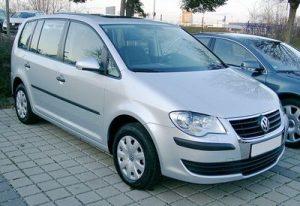Střešní nosič Volkswagen Touran