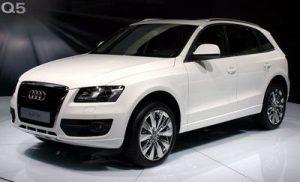 Autopotahy Audi Q5