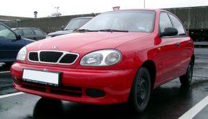 Autopotahy Daewoo Lanos