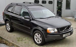 Střešní nosič Volvo XC90