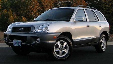 Tlumiče Hyundai Santa Fe