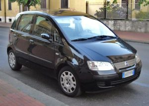 Zadní světlo Fiat Idea
