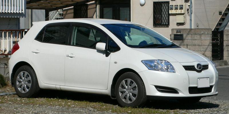 Zadní světlo Toyota Auris