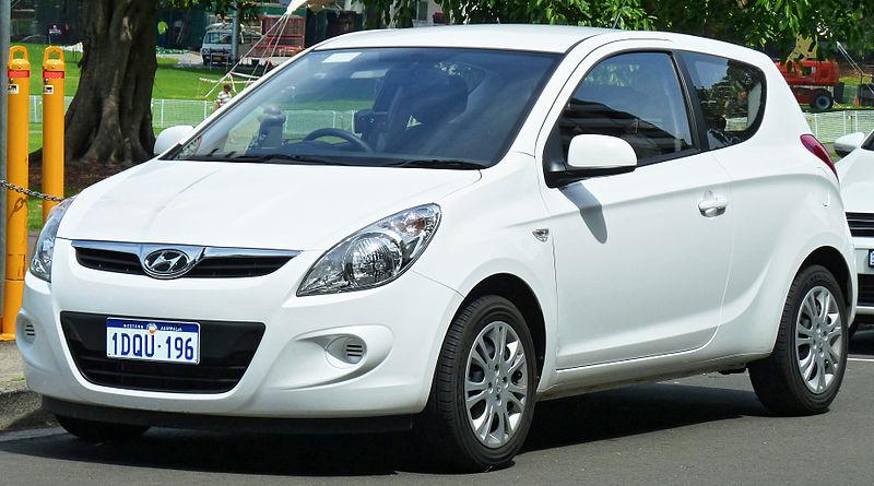 Zadní světlo Hyundai i20