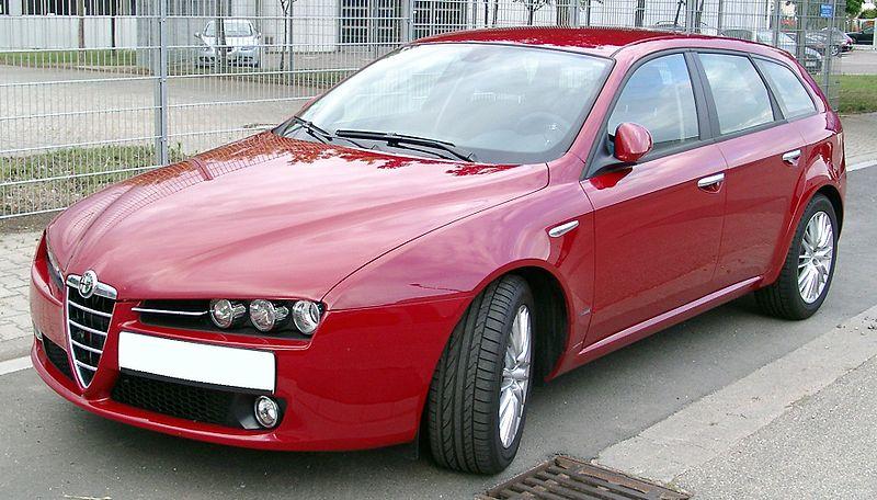 Tlumiče Alfa Romeo 159