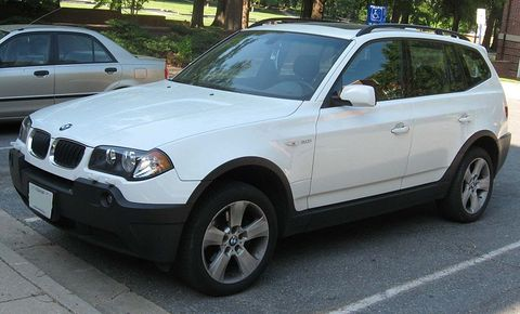 Autokoberce BMW X3