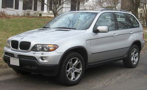Autokoberce BMW X5