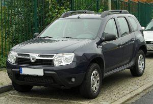 Stěrače Dacia Duster