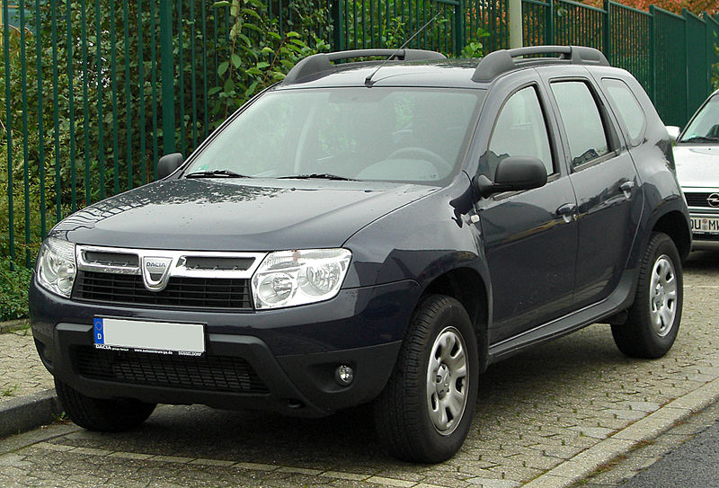 Autokoberce Dacia Duster