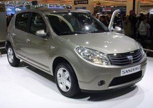 Zadní světlo Dacia Sandero