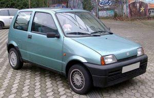 Autopotahy Fiat Cinquecento