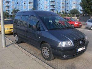 Zadní světlo Fiat Scudo