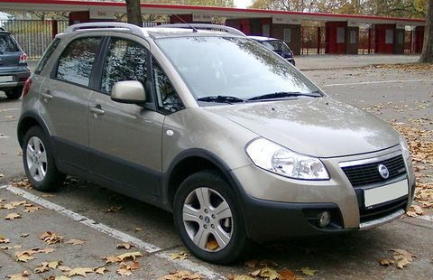 Autopotahy Fiat Sedici
