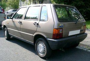 Zadní světlo Fiat Uno