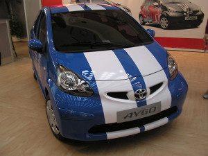 Autopotahy Toyota Aygo