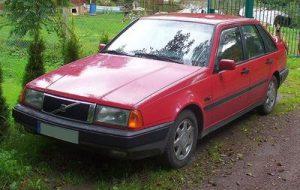 Střešní nosič Volvo 440