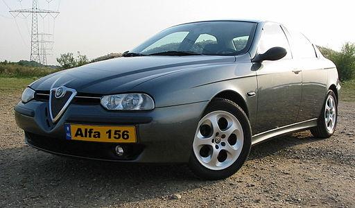 Tlumiče Alfa Romeo 156