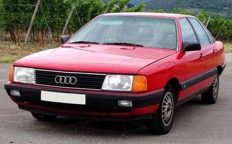 Autobaterie Audi 100
