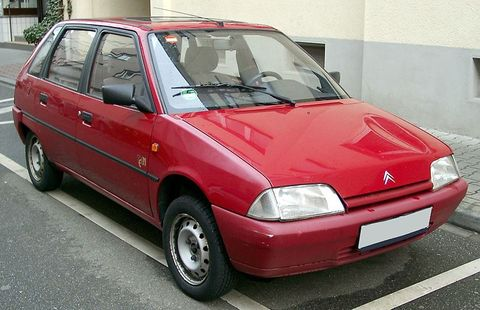Autokoberce Citroen AX