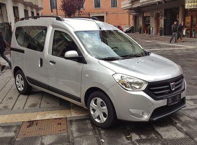 Autopotahy Dacia Dokker
