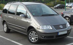 Střešní nosič Volkswagen Sharan