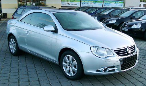 Pneumatiky Volkswagen Eos