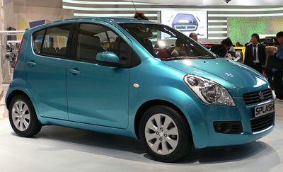 Zadní světlo Suzuki Splash