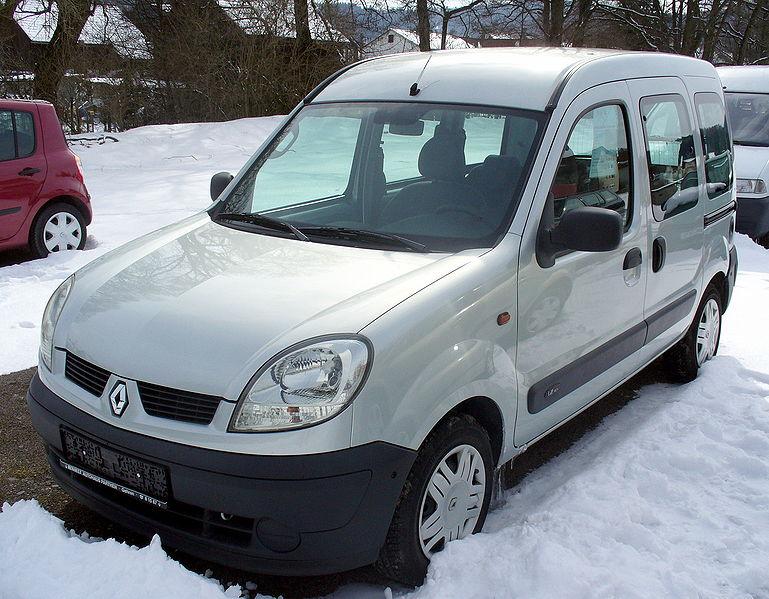 Zadní světlo Renault Kangoo