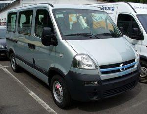Autopotahy Opel Movano