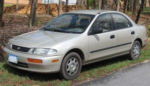 Autopotahy Mazda 323