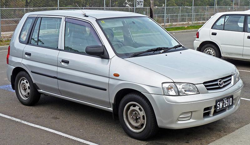 Střešní nosič Mazda Demio