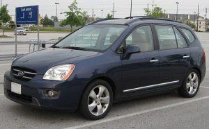 Autopotahy Kia Carens