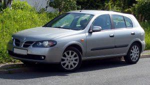 Střešní nosič Nissan Almera